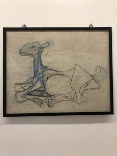 One of my fav pictures at the Picasso Museum - Antibes Water meetup 22-28.02.2018