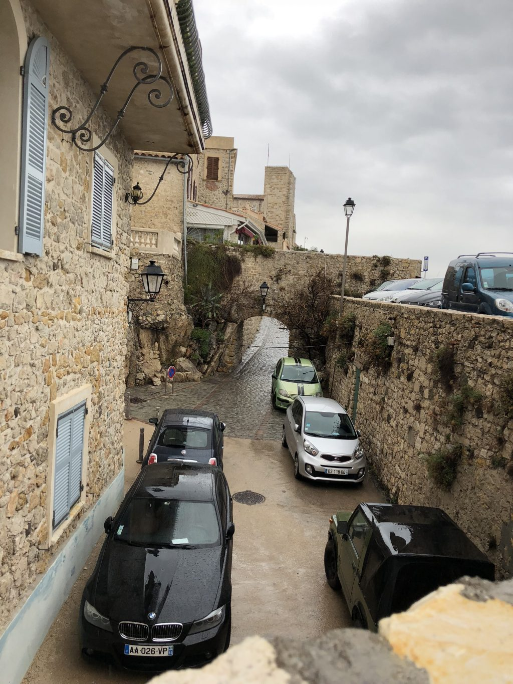 Reminds me of medieval central Italy towns - Antibes Water meetup 22-28.02.2018