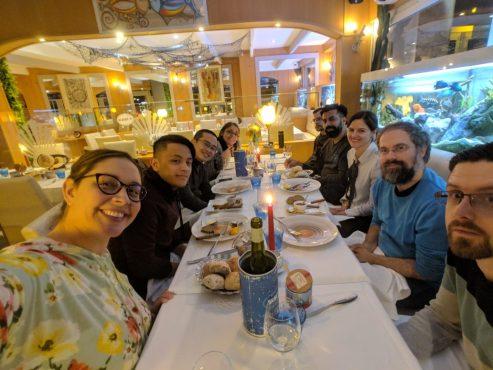 Team at dinner ph creds CK Allas