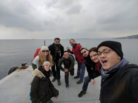 Team selfie at the pier - ph creds CK Allas