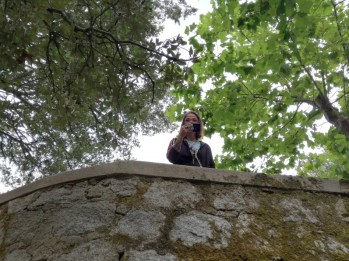 Me in Monte ortobene, pics by my friend Chiara Urbani
