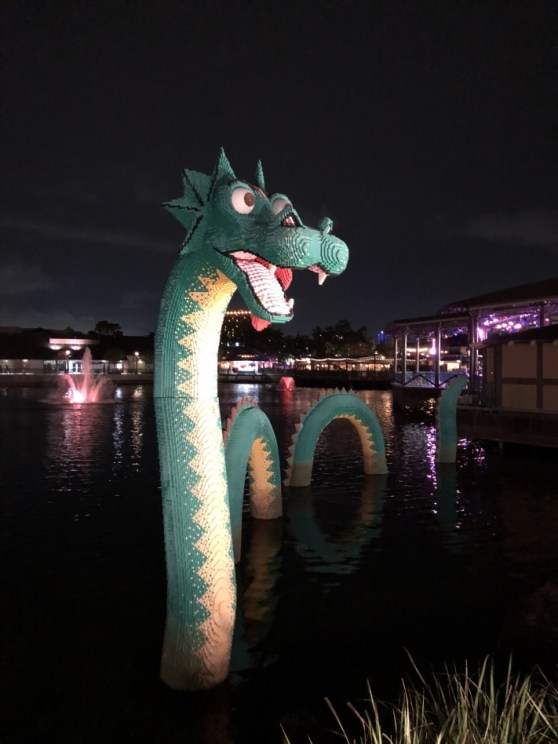 This is a real (Loch) Ness lego dragon!