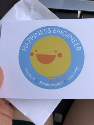 Happiness card from Ryan - - GM Sep-Oct Orlando 2018