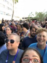 700 people getting ready to take a company pic together
