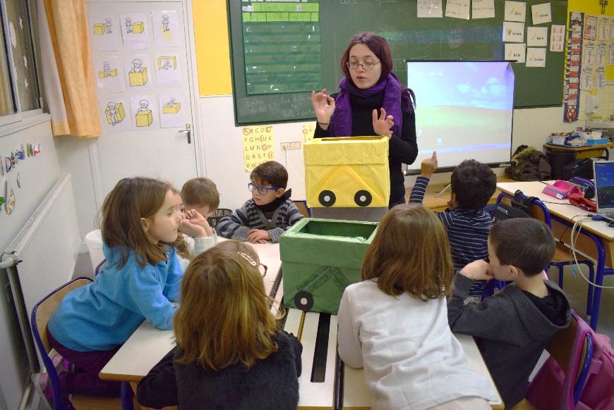 intervention de CIE en école primaire