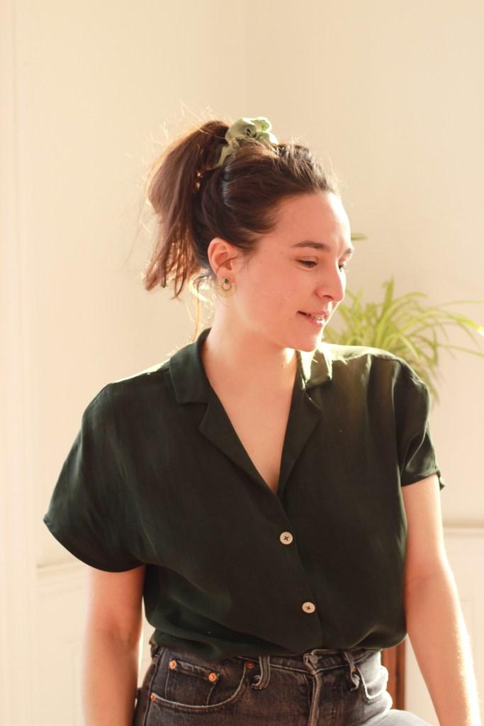 Agathe Meunier, fondatrice de Collectif fringué, marque de mode éthique et collaborative