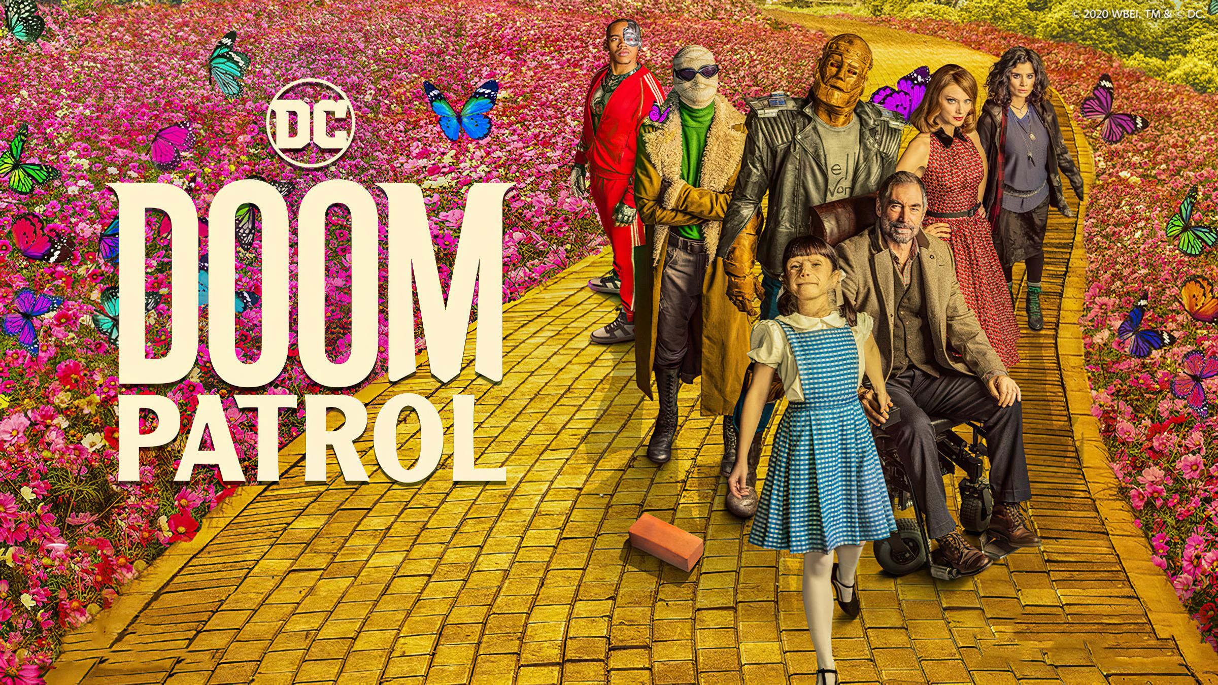 doom patrol season 2 dorothy friends