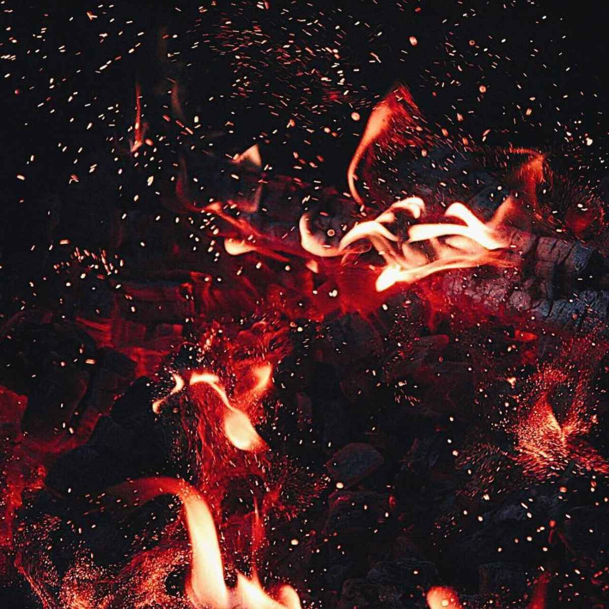 time lapse photography of flame