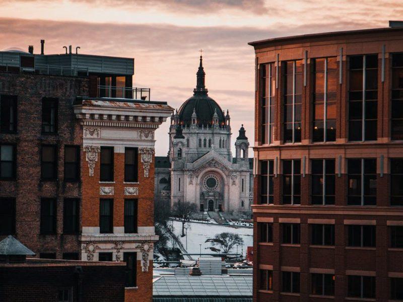 city sky art street