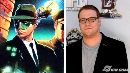 Green Hornet and actor Seth Rogen