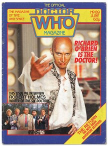 Richard O'Brien as the alternate Sixth Doctor Who