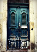 Door in Lisbon, Portugal