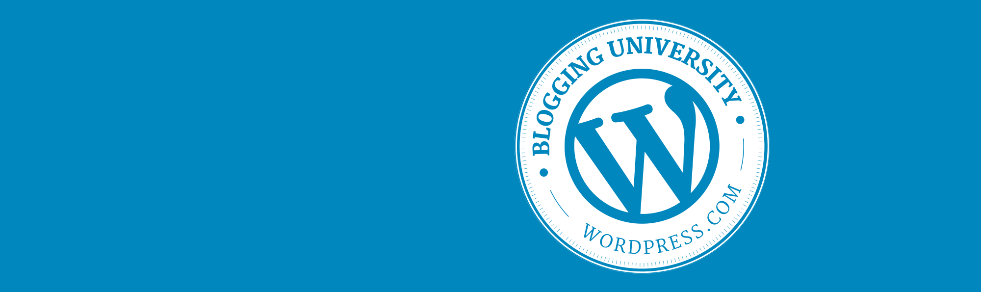 Introducing Blogging U. On Demand