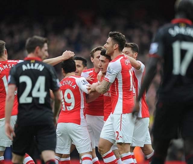 Arsenal Vs Liverpool Apr