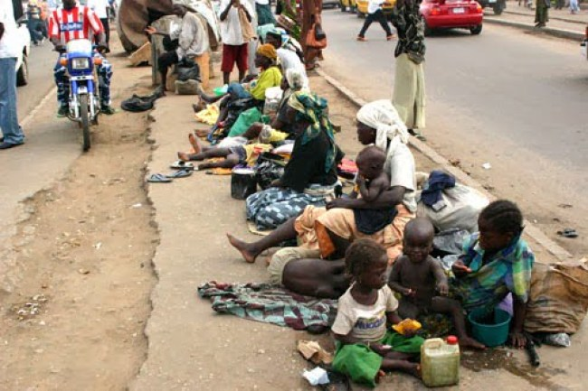 Image result for beggars in lagos
