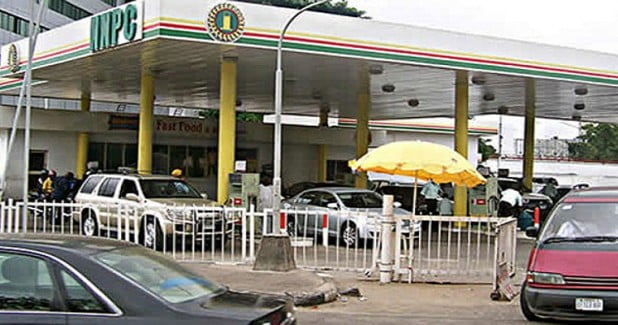 Image result for Armed robbers attack NNPC mega station, cart away N16m
