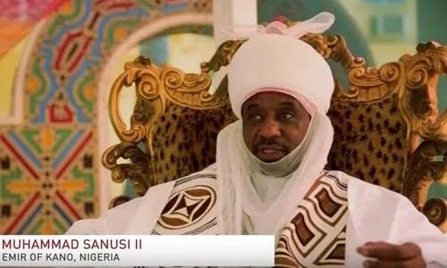 Emir of Kano Muhammadu Sanusi II - Kano: Emir Sanusi finally states position on Ganduje's victory over PDP's Kabir Yusuf
