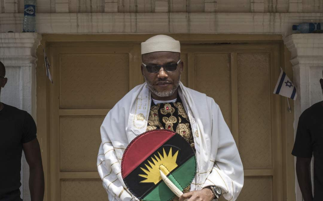 Nnamdi Kanu, parents into ghosts – Family