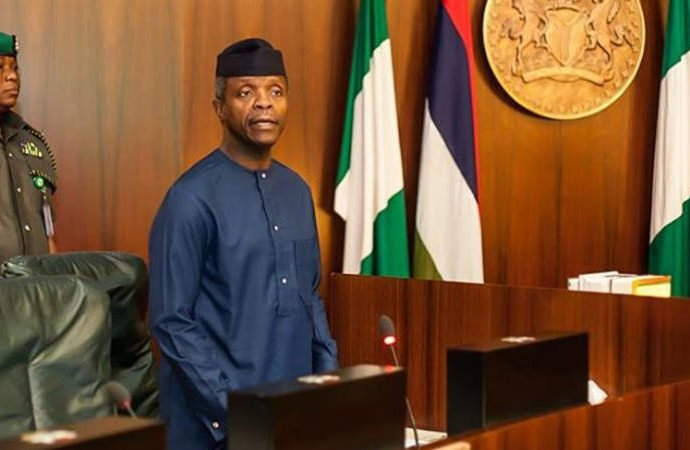 Image result for Osinbajo risking everything as pastor, professor, rights activist – Utomi