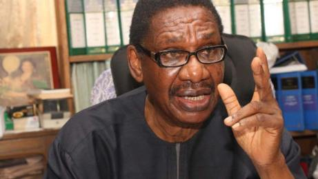 Sagay says Onoghen's suspension legally, morally right
