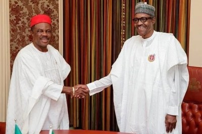 Image result for obiano and buhari