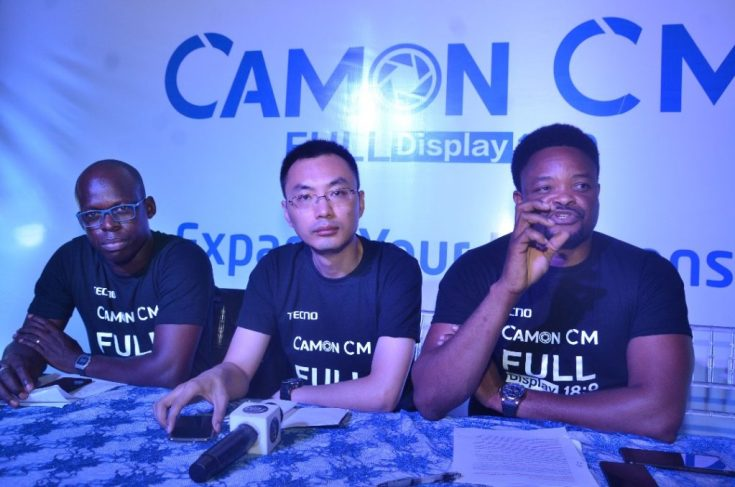 TECNO releases first full-screen display smartphone, CAMON CM – See specs