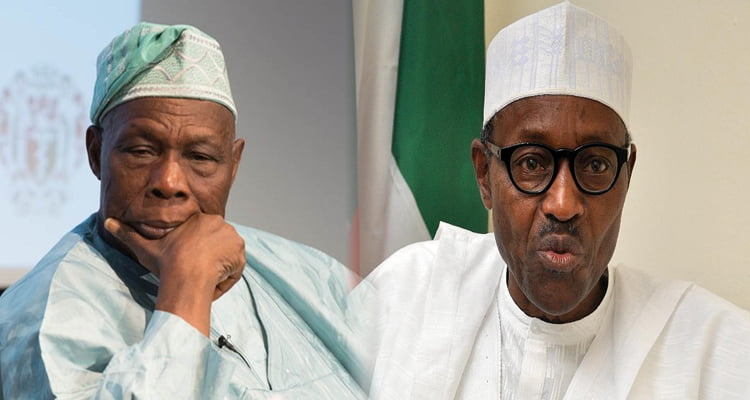 Image result for president obasanjo and buhari in picture