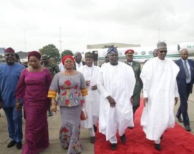 Image result for Buhari in Lagos