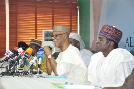 Image result for Oyegun charges new State APC officials on party's re-election