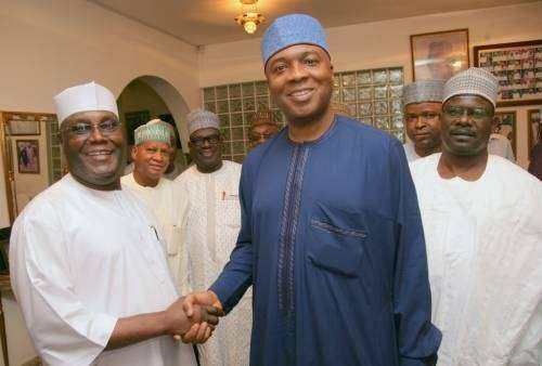 Image result for Atiku's presidency will attract investment, says Saraki