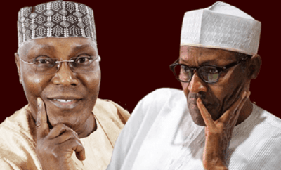 Image result for buhari vs atiku 2019