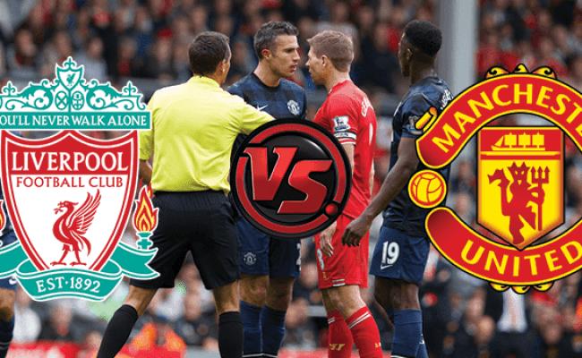 Livescore Latest Epl Result For Liverpool Vs Manchester