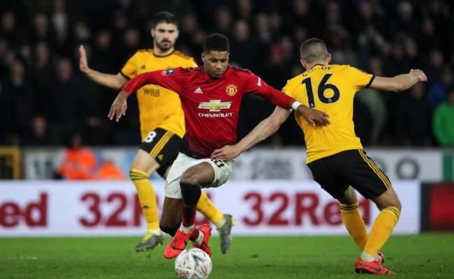 Livescore Latest Epl Result For Wolves Vs Manchester