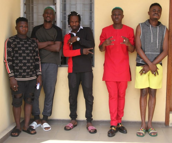 Image result for naira marley and zlatan arrested