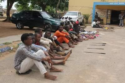 Police arrest, parade 86 suspected criminals in Bauchi