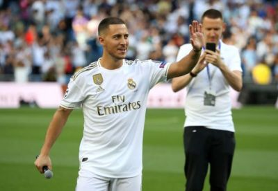 Transfer: Real Madrid sign another striker after Hazard 1