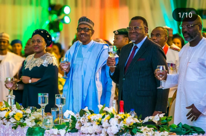 Democracy Day:See How  Buhari hosts world leaders to dinner [PHOTOS]