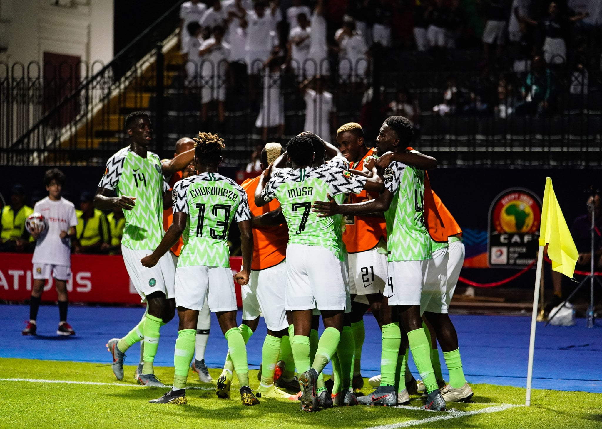 Super Eagles ACrlZX4AEQV0Z - Nigeria Vs Cameroon: Adepoju tells Super Eagles what to do next
