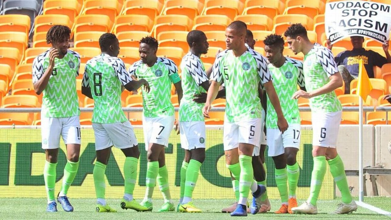 Super Eagles South Africa Nov2018 1280x720 - AFCON 2019: APC reacts to Sanwo-Olu's donation to Super Eagles in Egypt