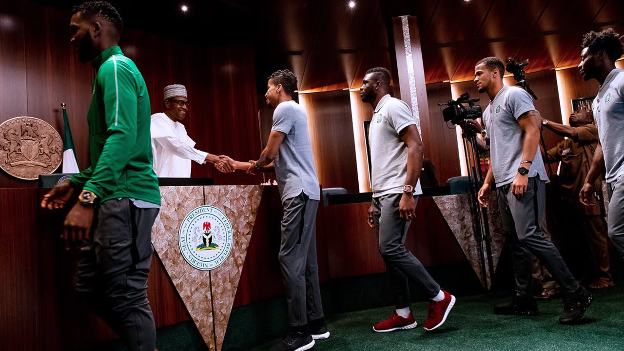 buhari eagles - 2019 AFCON: Buhari govt reacts as Super Eagles qualify for round of 16