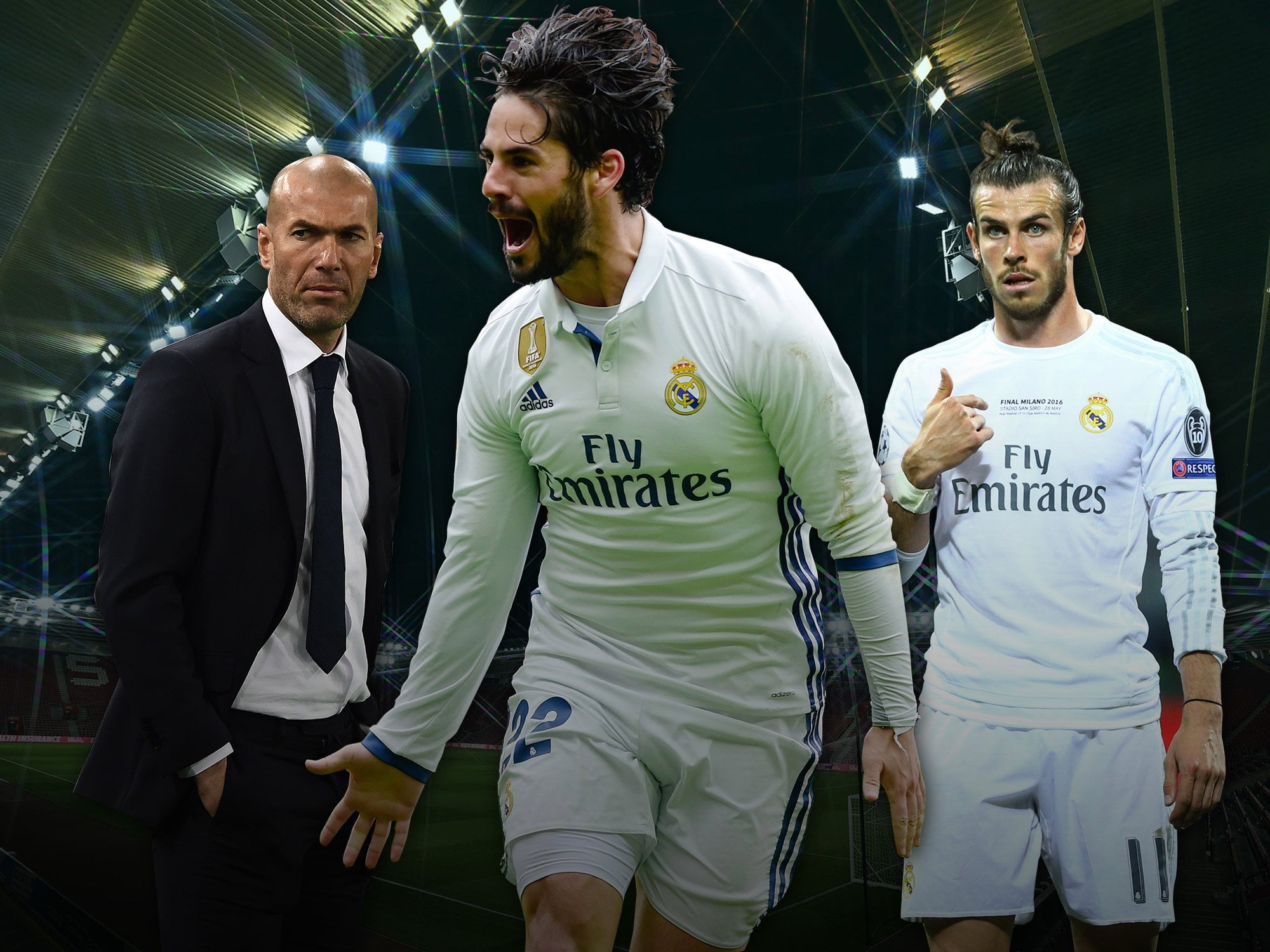 Bale Isco - Transfer: Real Madrid offer Bale, Isco, £72m for Man United star