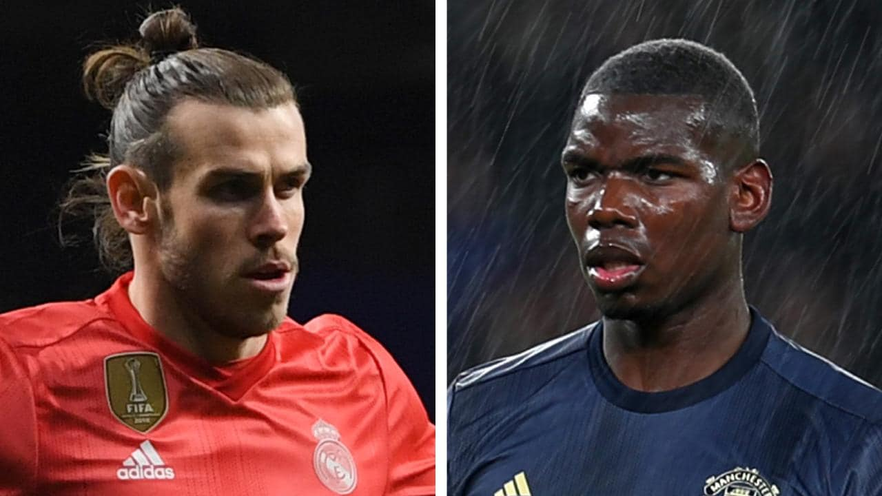 Bale - Transfer: Real Madrid offer Bale in swap deal for Man Utd's Pogba