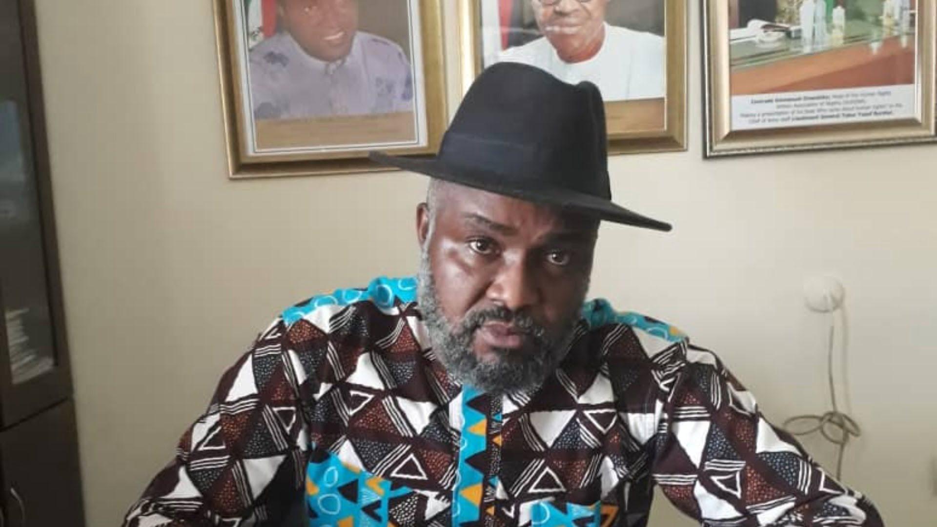 Emmanuel Onwubiko - Yahoo Yahoo: Buhari govt jails petty thieves but accommodates rich looters - HURIWA