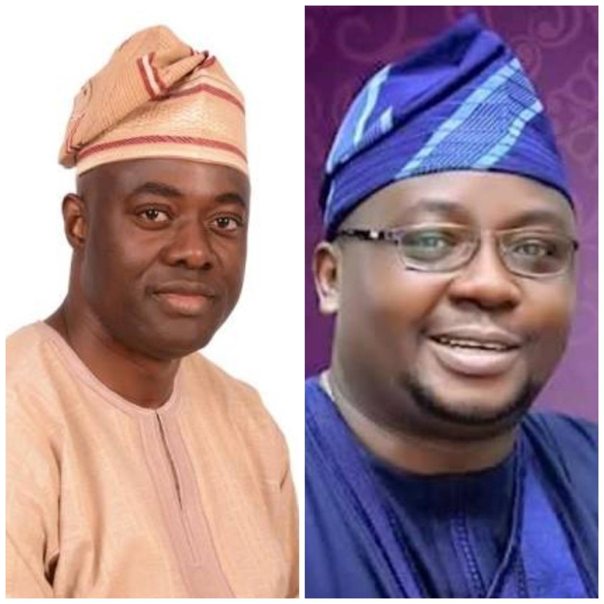 Makinde left and Adelabu - Adelabu vs Makinde: INEC closes its case in Oyo Election Tribunal