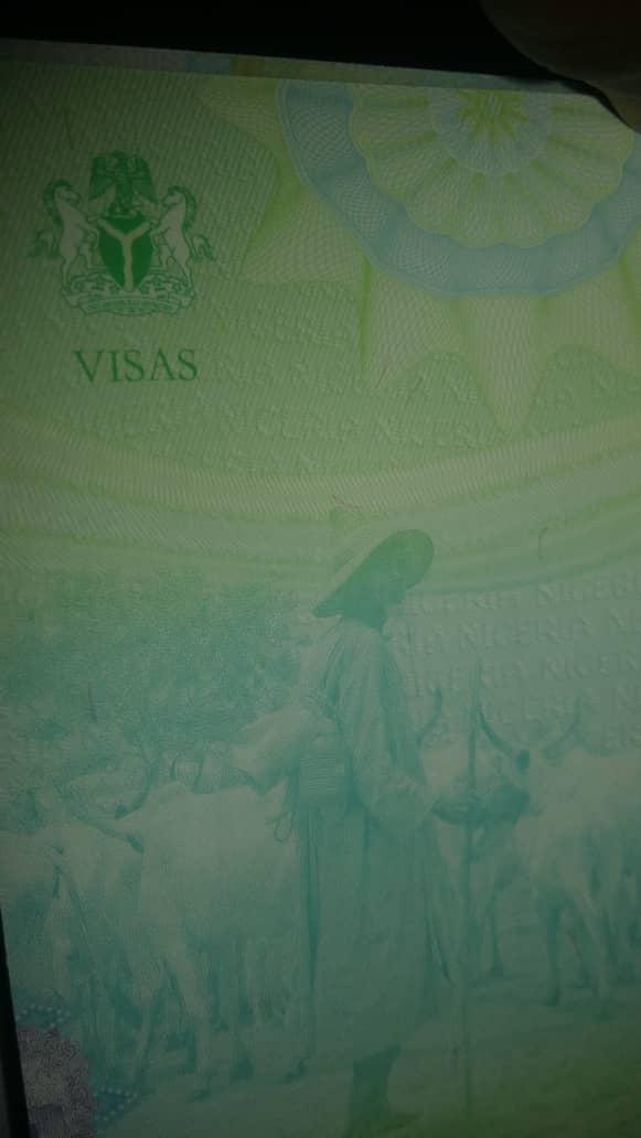 Buhari and Osinbajo under serious attack as Nigeria 2019 passport bears herdsmen image [PHOTO]