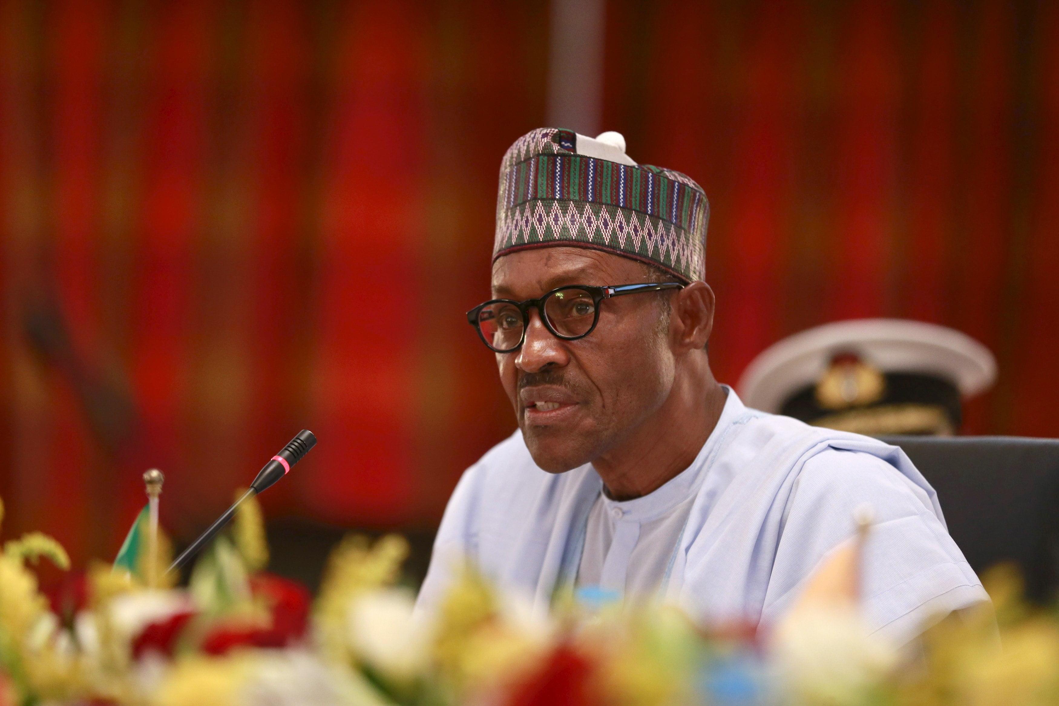 buhari speaks - Details of President Buhari's meeting with Major-General Mamman emerge