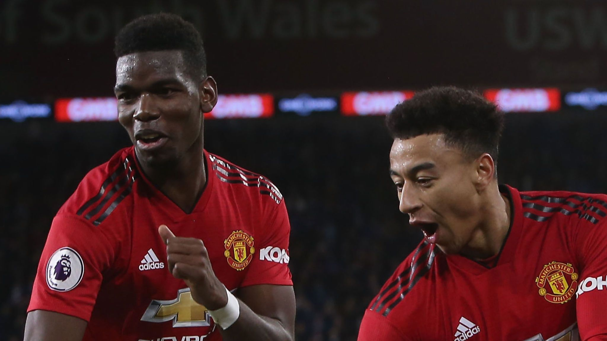 skysports jesse lingard paul pogba 4534214 - Pogba, Lingard clash on Man Utd's preseason tour [VIDEO]