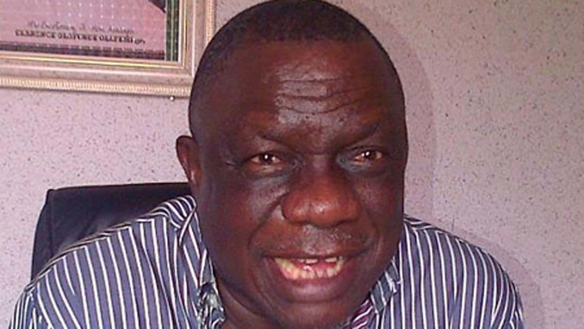 Olafemi Clarence Obembe - Former Kogi governor set to dump PDP for APC