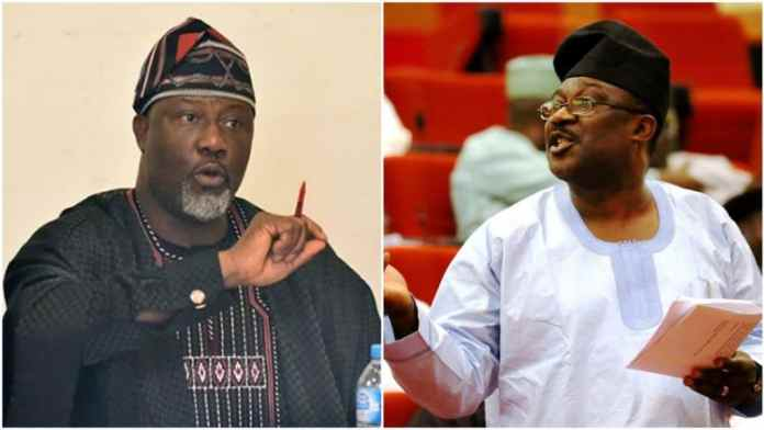Dino Melaye vs Smart Adeyemi: Live Results from collation centre