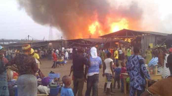 Another building gutted by fire in Lagos [Video]